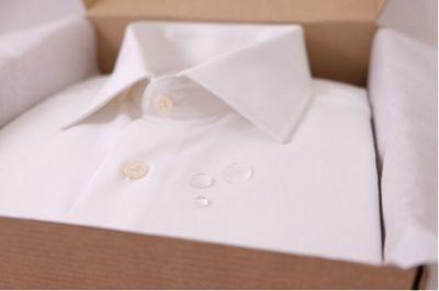 Inovação: uma camisa sob medida e resistente às manchas
