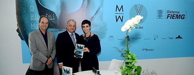 Lilian Pacce lança livro no Minas Trend