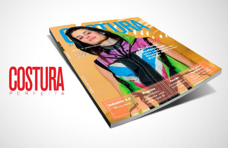 Revista Costura Perfeita Edição Ano XIX – N101 – Janeiro/Fevereiro 2018
