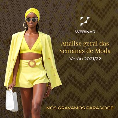 Webinar Use Fashion: Análise geral das Semanas de moda – Verão 2021/22